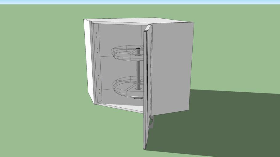 meuble de cuisine haut 1 porte d angle