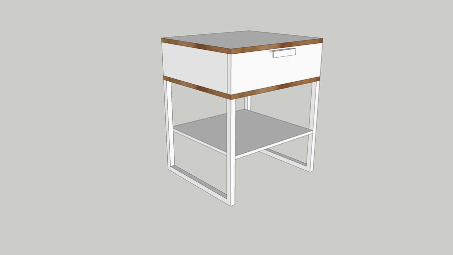 table de chevet trysil ikea 3d warehouse
