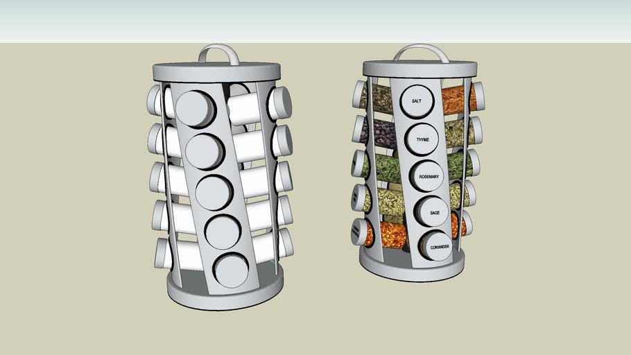 spice rack 3d warehouse