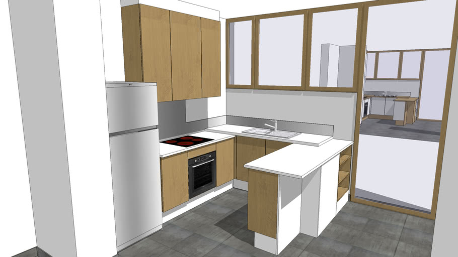 petite cuisine 3d warehouse