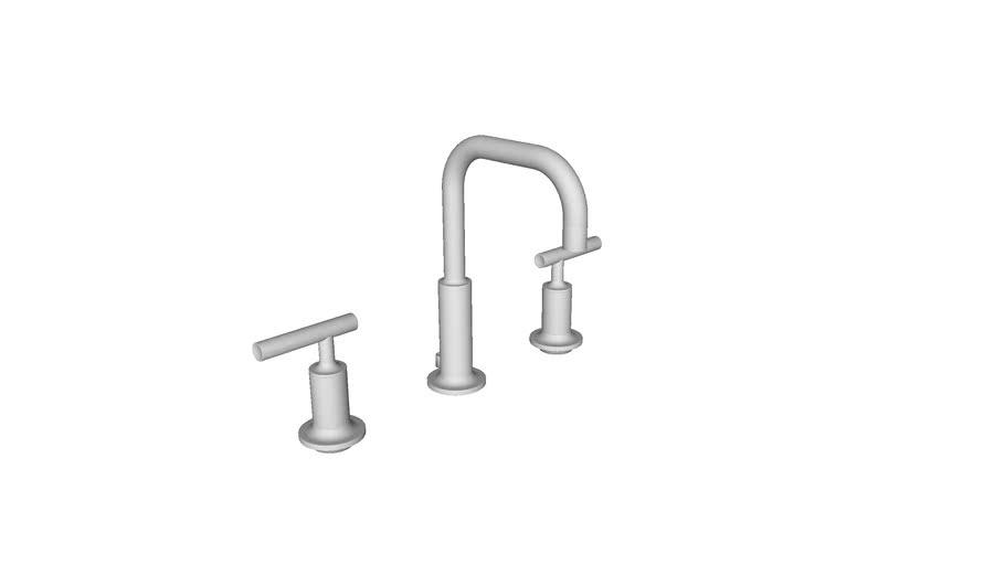 kohler purist widespread faucet 3d