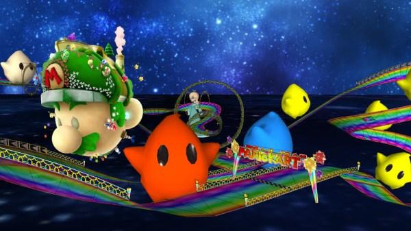 DS Rainbow Road (mario galaxy edition)   3D Warehouse
