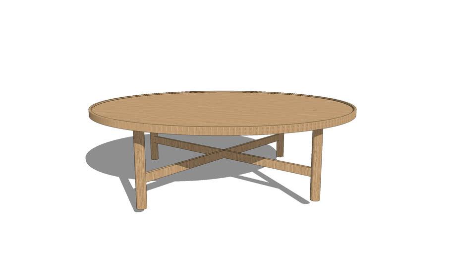 etta grande table basse ronde