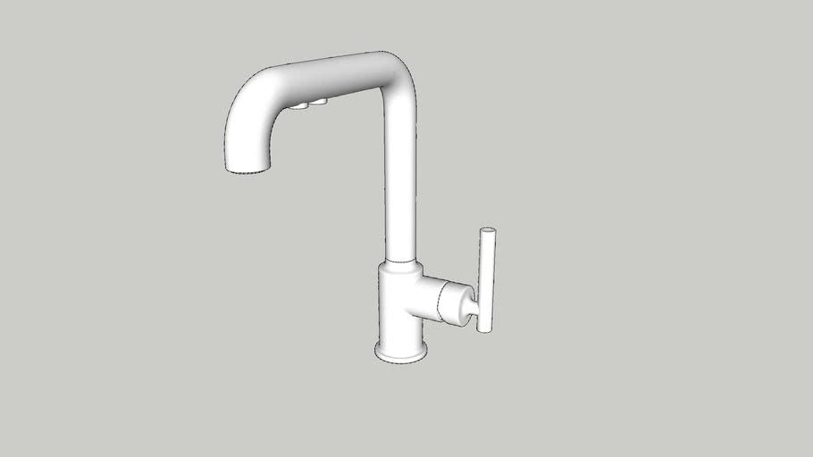 kohler purist single hole kitchen sink