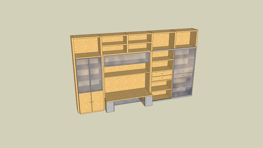 meuble gautier byblos 3d warehouse