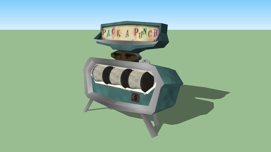 pack a punch machine 3d warehouse