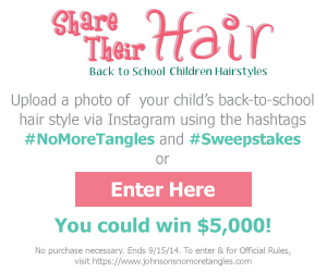 Johnsons Share The Hair Sweepstakes