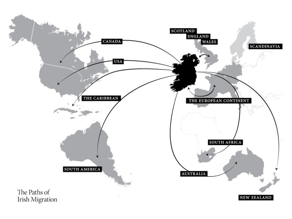Which part of the Irish Diaspora are you from? - A Letter ...