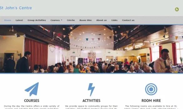 St John Centre Website