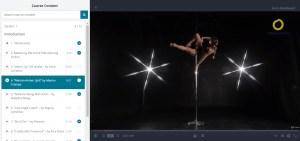 Free pole dance classes Udemy 3