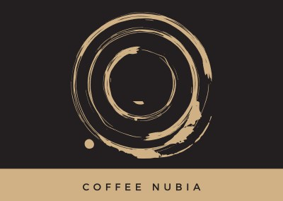 The Coffee NUBIA Logo Design
