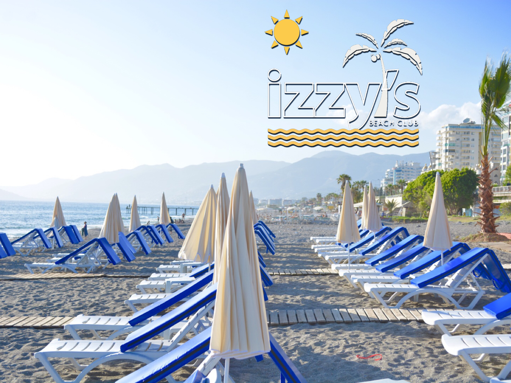 IZZYS BEACH BAR AS THE BEST BEACH RESTAURANTS IN MAHMUTLAR. THE ULTIMATE ALANYA GUIDE,