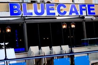 Side view of Blue Cafe mahmutlar - we love mahmutlar