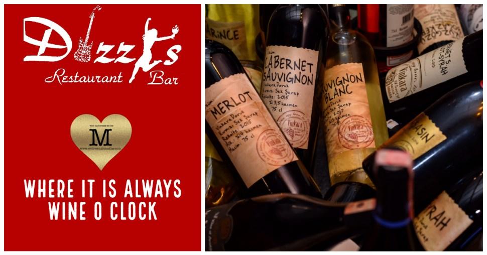 Dizzys Bar - Amazing Wine Store - We Love Mahmutlar
