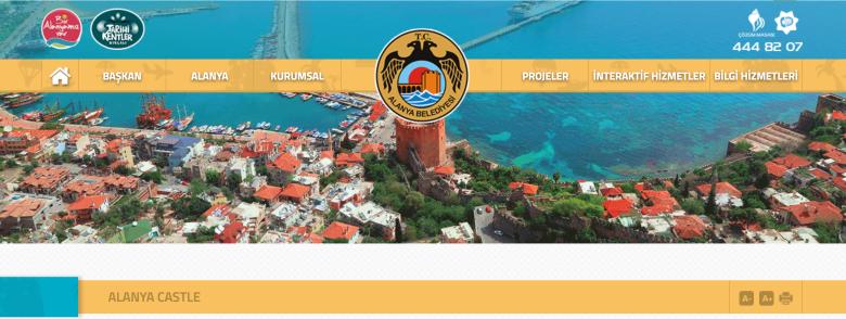 Alanya Beledyesi Website - History of Alanya Castle