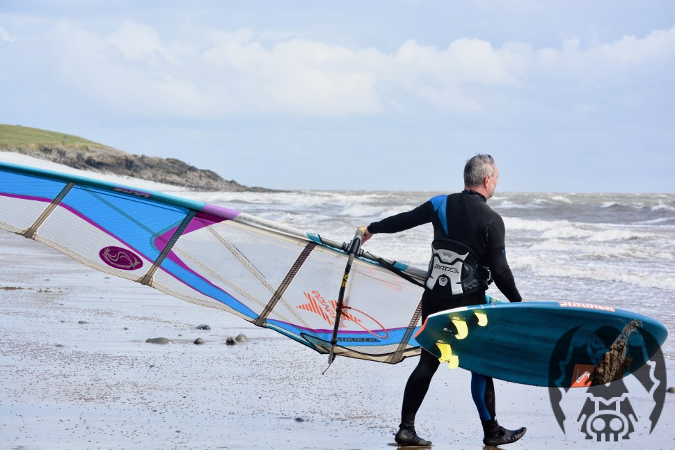WINDSURFING AND KITEBOARDING AT COLD KNAP BARRY FROM 3 EYED RAVEN PRODUCTIONS ULTIMATE GUIDE TO BARRY