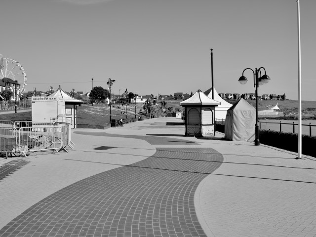 Barry Island, Black and White framed prints for sale