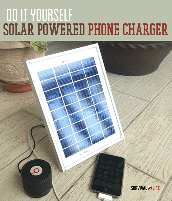 Placard | DIY Solar Powered Cellphone Charger