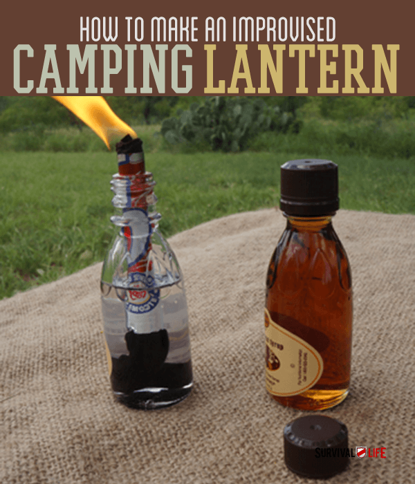 Placard | How To Make An Improvised Camping Lantern