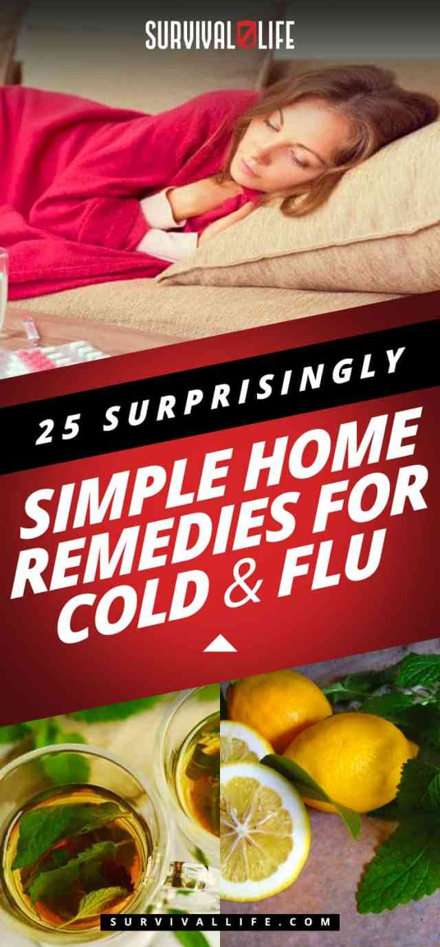 Placard   Home Remedies For Cold And Flu   25 Surprisingly Simple Natural Relief