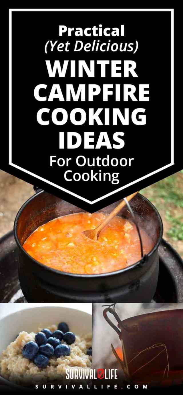 Placard | Practical (Yet Delicious) Winter Campfire Cooking Ideas For Outdoor Cooking