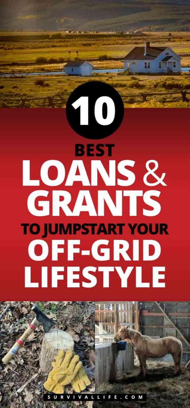 Placard | Best Loans And Grants To Jumpstart Your Off-Grid Lifestyle