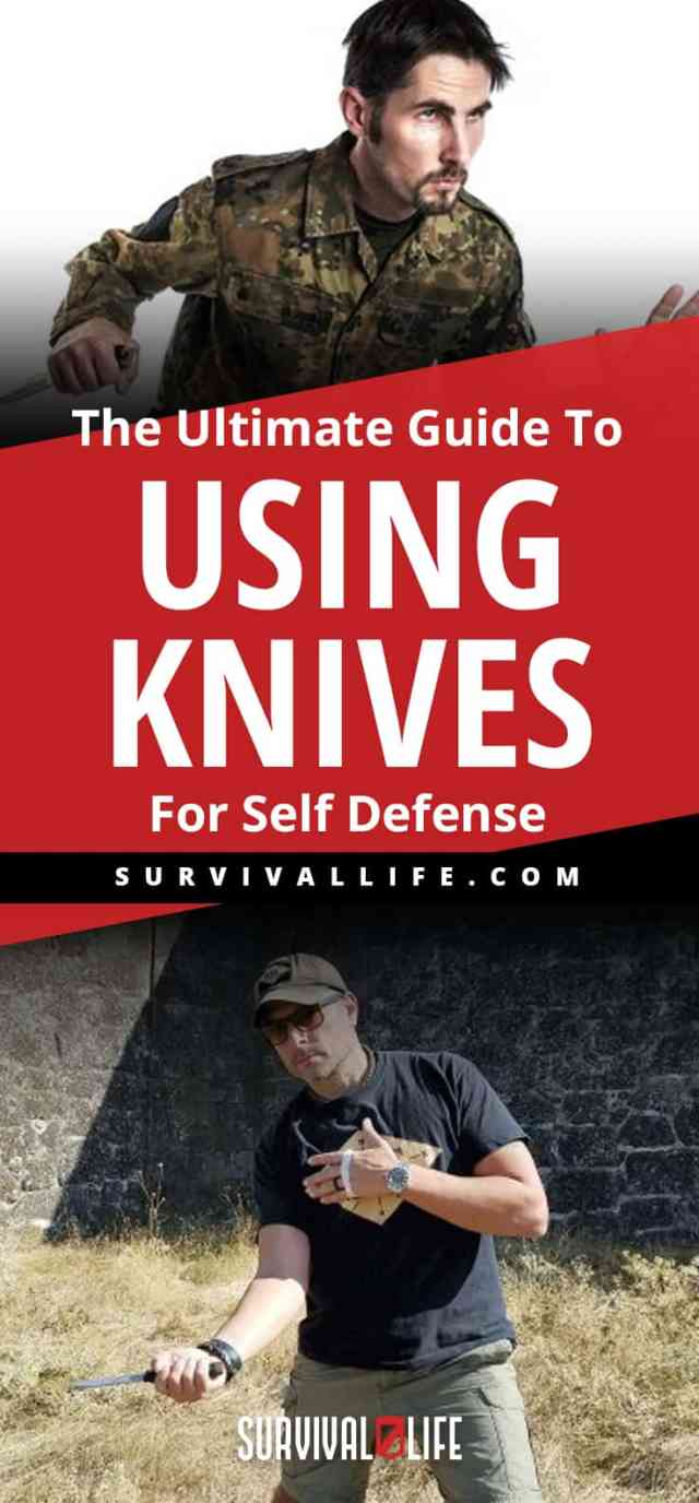 Placard | Guide Using Knife | The Ultimate Guide To Using Knives For Self Defense