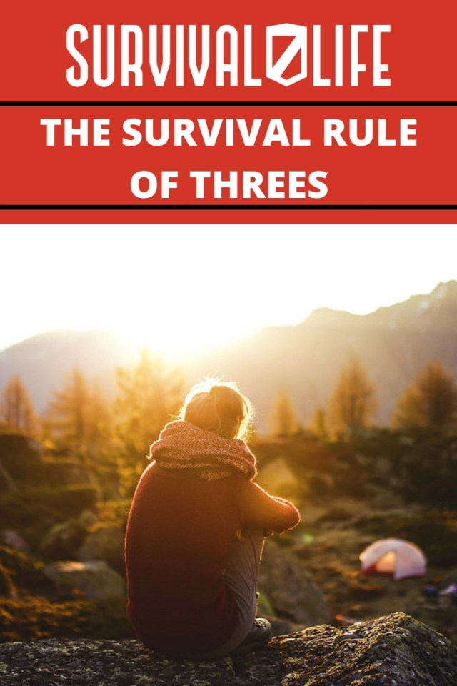 Placard | The survival rule | The Survival Rule of Threes