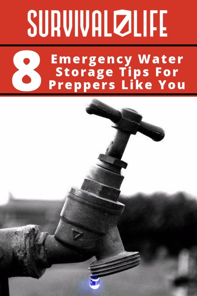 Placard | Emergency Water Storage Tips For Preppers Like You