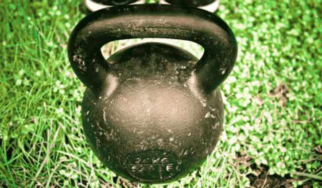 Focus on black kettlebell | Why The Kettlebell Is The Ultimate Tool For Physical Preparedness