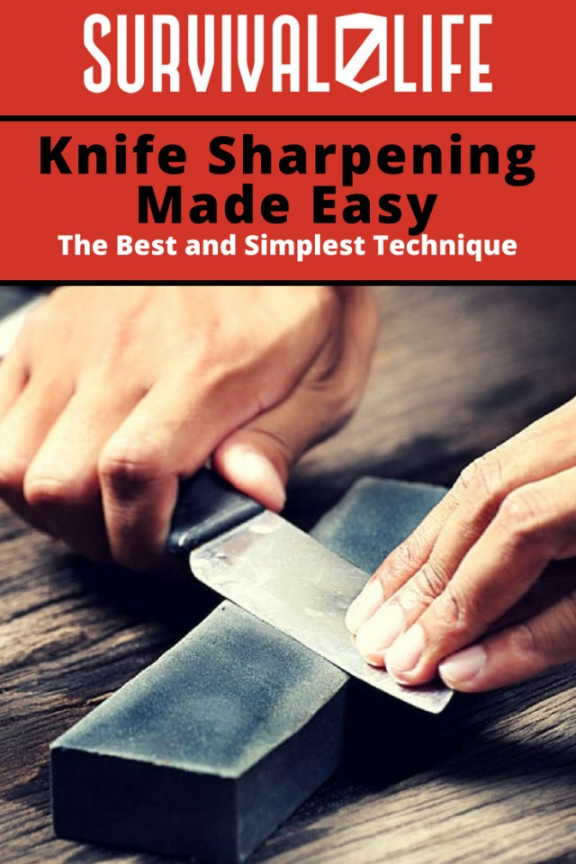 Knife Sharpening Made Easy | https://survivallife.com/knife-sharpening-101/