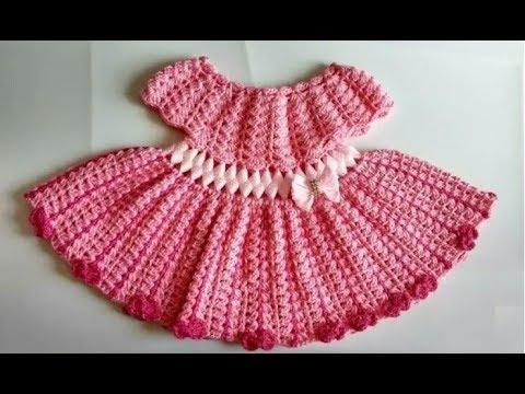 طريقة عمل فستان كروشيه بالتفصيل اصنعي فستان كروشيه لابنتك بنفسكي