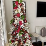 Decorating With Flocked Christmas Trees Baker Christmas Design