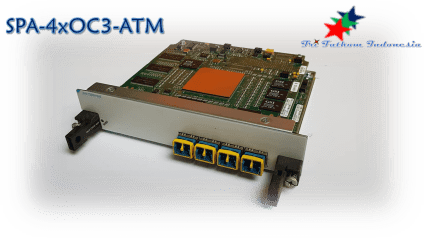 CISCO - SPA-4xOC3-ATM