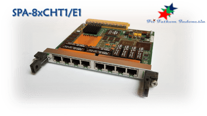 CISCO - SPA-8xCHT1 E1 Web