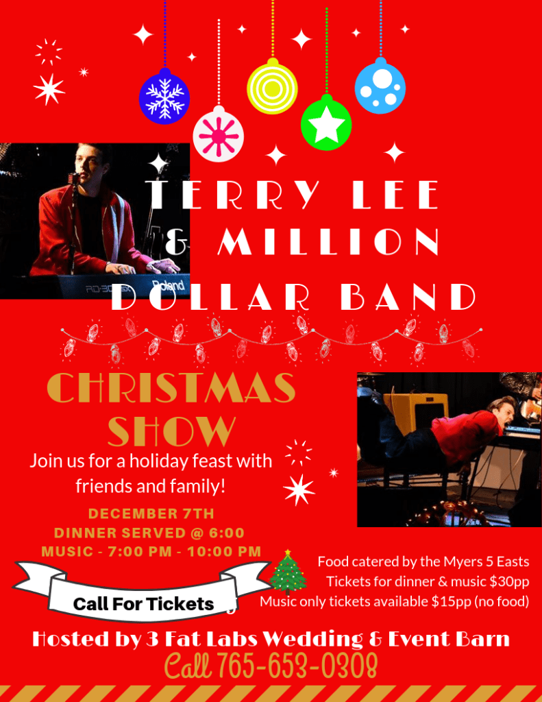 Terry Lee Ridley Christmas Show