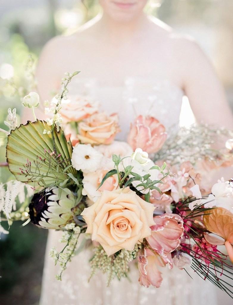 Indianapolis bridal bouquet trends Sun Palms