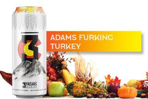 Adams Furking Turkey Beer