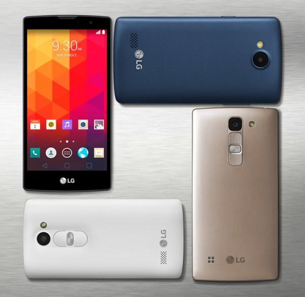 LG announces four new mid-range smartphones