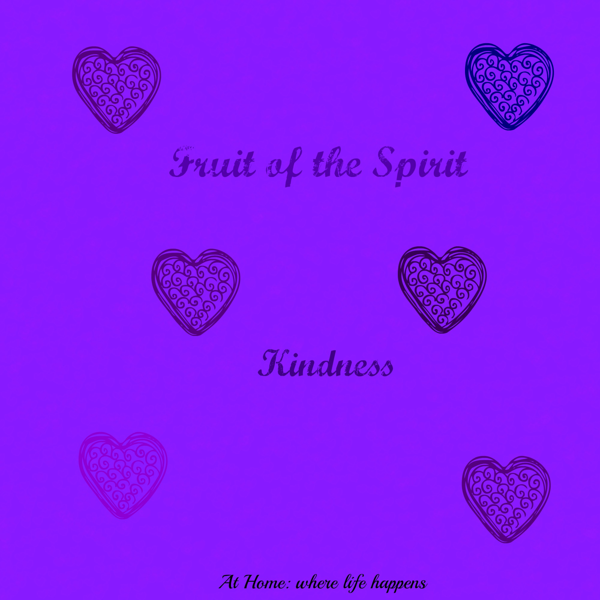 Fruit Of The Spirit Kindness