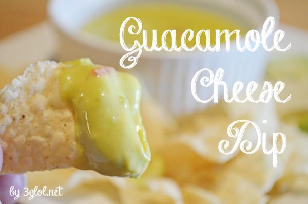 Guacamole Cheese Dip by 3glol.net