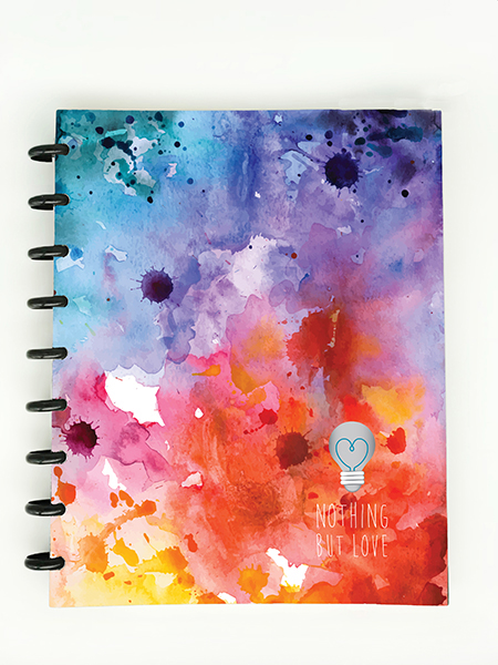 3G Flex Planner Watercolor Cover