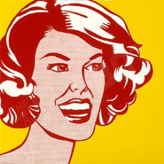 Roy Lichtenstein H E A D : R E D A N D  Y E L L O W