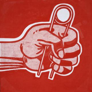Roy Lichtenstein The Grip