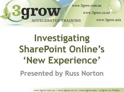 SharePoint Online Modern Lists Slide