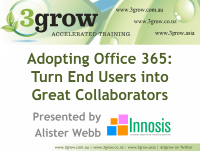 *VIDEO* Adopting Office 365: Turn End Users into Great Collaborators