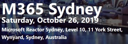 'Microsoft 365 Saturday' Returns to Sydney