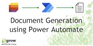 Free Webinar: Document Generation using Microsoft Power Automate