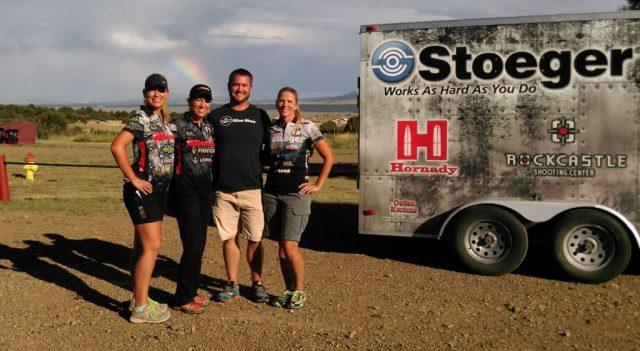 The Ladies of 3-Gun, Team Benelli and Team Stoeger