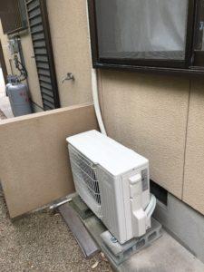エアコンの取付 直方市